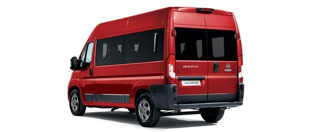 Bardzo dobry Fiat Ducato Kombi | Samochód do przewozu osób | Fiat Professional CW88