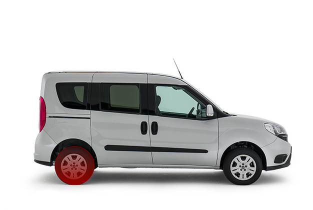 Fiat Doblo Combi Passenger Transport Van Fiat Professional