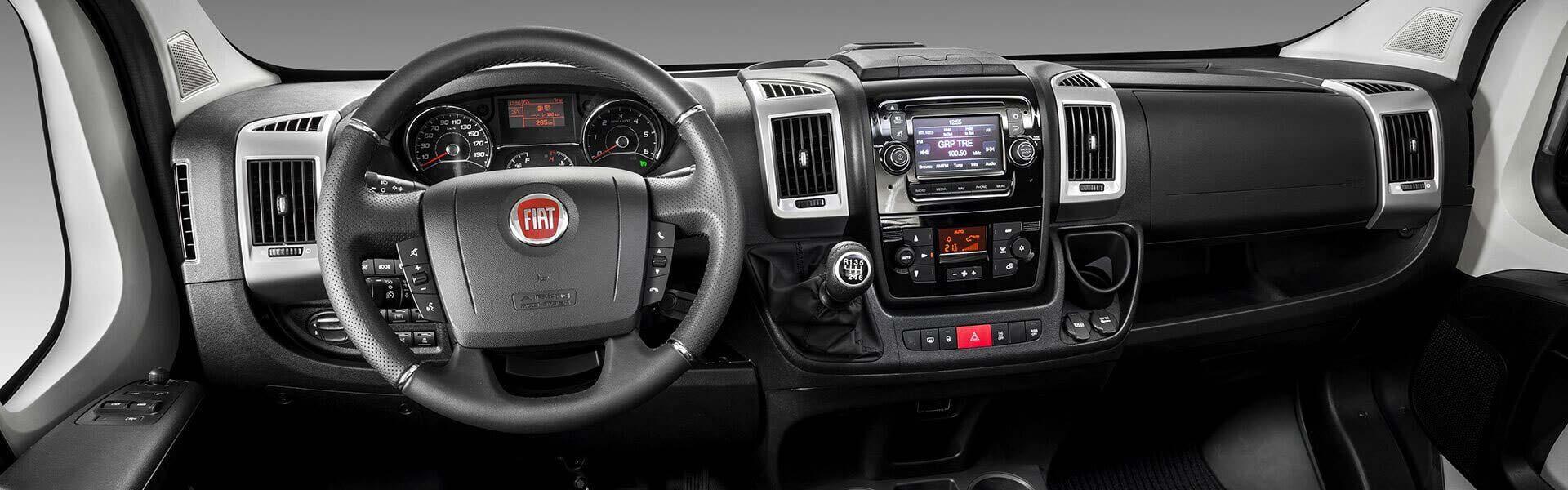 Fiat ducato kombi fiat professional personentransporter for Interieur fiat ducato 2000